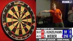 Super League Finals: Halbfinale (23.11.13) Jonas Kunzelmann vs. Julian Weber