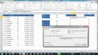 Excel - MIN, MAX, KKLEINSTE und KGRÖSSTE - Statistische Funktionen