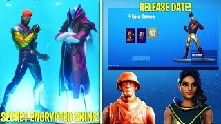 *NEW* SECRET ENCRYPTED SKINS, FREE STYLES, STARTER PACK RELEASE DATE + SHOWCASE (Fortnite 10.1)
