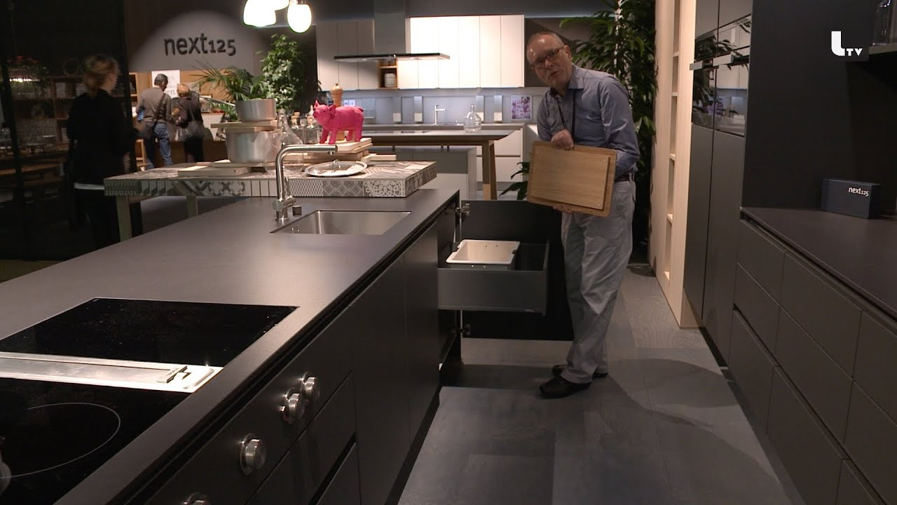 designer k chen next 125 imm cologne 2015 lifestyle tv youtube. Black Bedroom Furniture Sets. Home Design Ideas