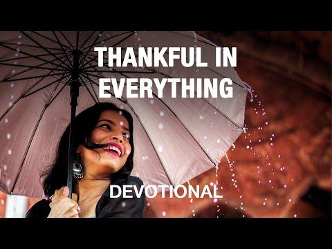 Gratitude in All Circumstances - Devotional