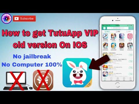 How to download TutuApp Old version VIP no jailbreak no