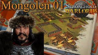 Eine Unaufhaltbare Macht - Mongolen M01 - Stronghold Warlords | Let's Play (German)