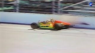 Indianapolis 500 Crashes of the 1993 [Practice 2 scenes]