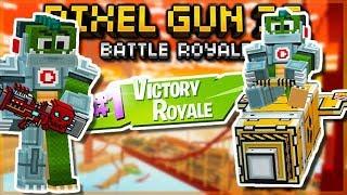 NEW BATTLE ROYALE MAP CHANGES & INSANE CHALLENGES | Pixel Gun 3D