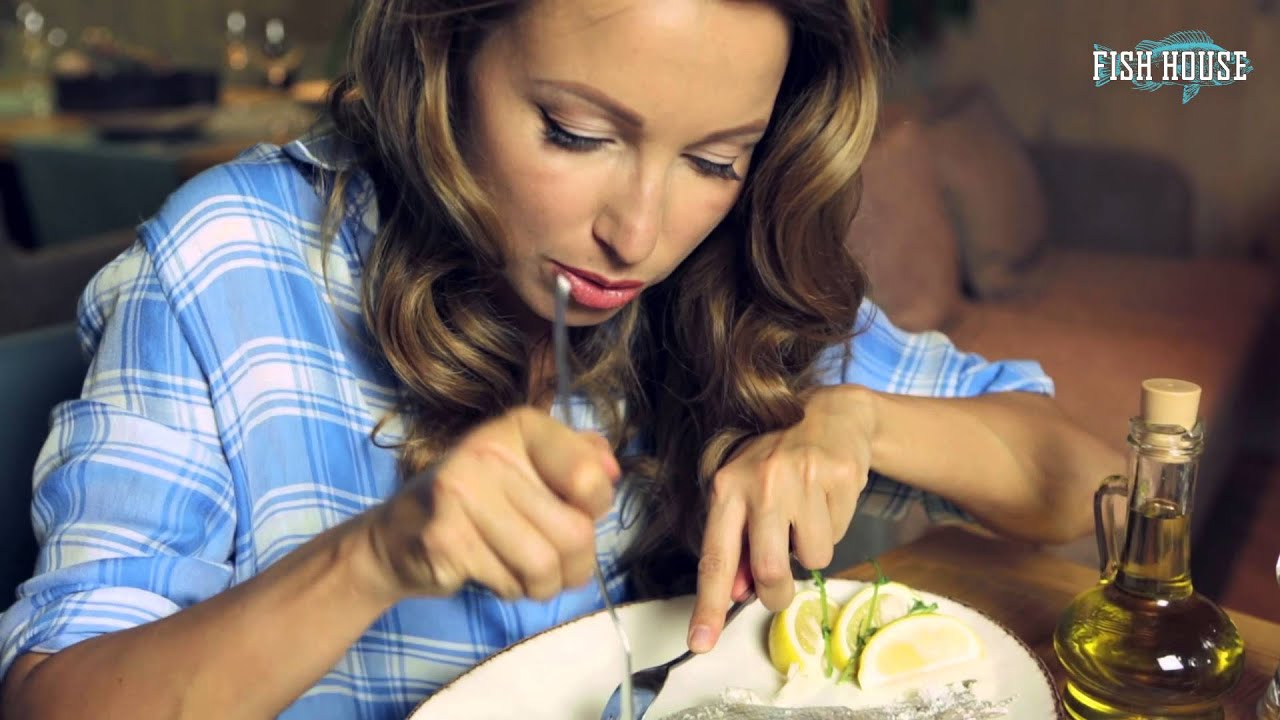 Едим рыбу в ресторане - Урок #4: Рыба