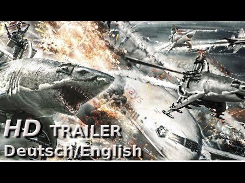 SKY SHARKS - Offizieller HD Trailer [Deutsch/English] | Horror-Trash