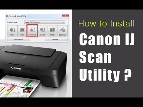 Download Canon IJ Scan Utility Install @1-877-902-2785 For Windows 10? Ij Start Canon
