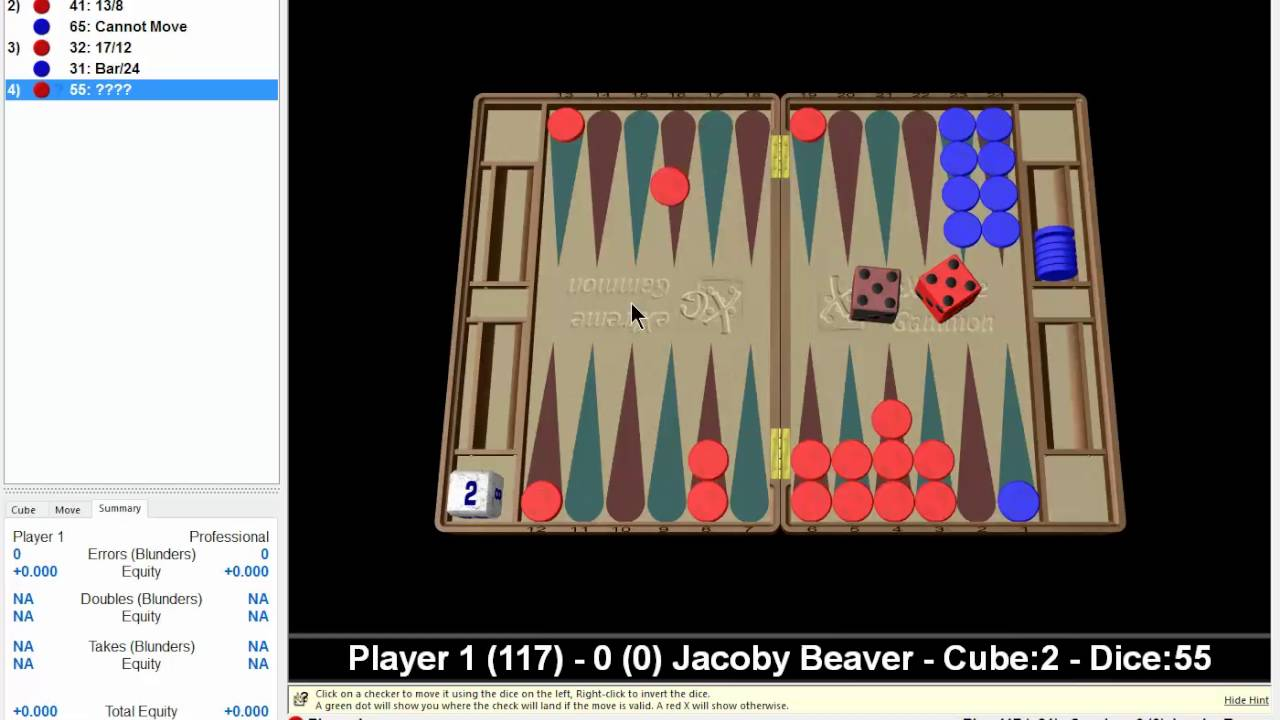 How To Play Backgammon Well Youtube