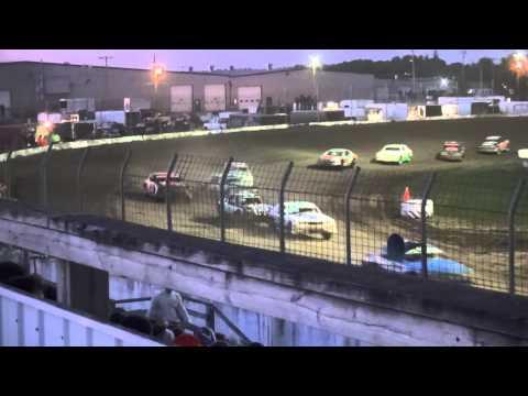USRA Stock Car feature Cresco Speedway 5/31/15