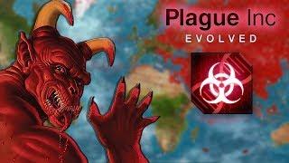 THE DEMON. DEANMON. | Plague Inc Evolved Custom Scenario BRUTAL Difficulty PC Gameplay/Let