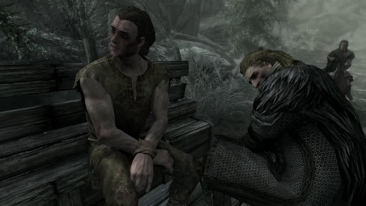 Skyrim Remastered- Intro and Opening Scene - YouTube