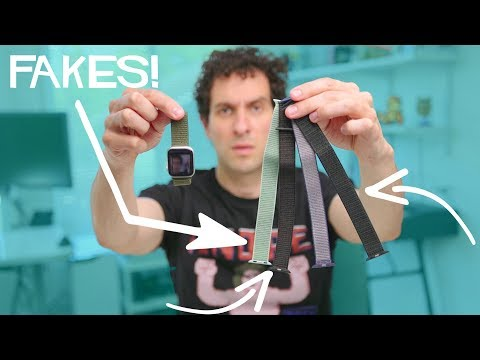 These $4 Fakes BEAT Apple's $50 Watch Bands!