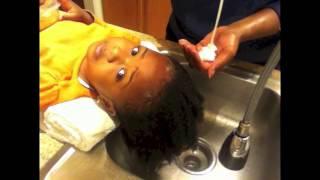 Natural Kids 1: Washing Natural Hair for a Toddler