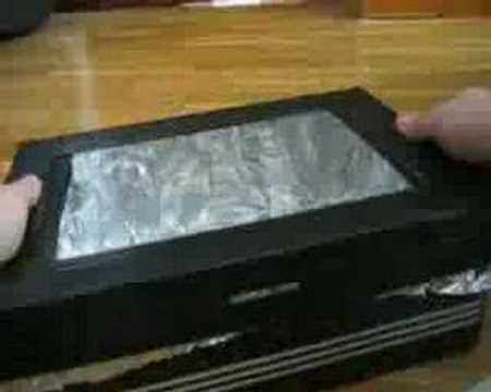 Kid S Solar Oven Youtube