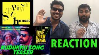 Love Action Drama   Kudukku Song Reaction   Nivin Pauly   Vineeth Sreenivasan   Shaan Rahman