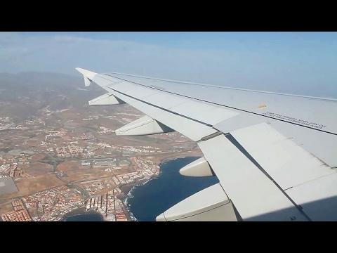 Iberia Express IB3827 A320 Gran Canaria - Madrid Barajas Safety, Takeoff, Inflight, Landing
