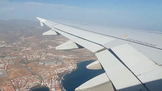 Iberia Express IB3827 A320 Gran Canaria - Madrid Barajas Safety, Takeoff, Inflight, Landing