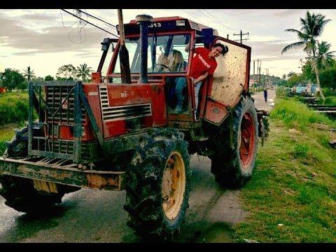 Simple Life, Riding a Farm Tractor - Guyana Travel Vlog 3