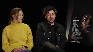 Seána Kerslake & Lee Cronin - The Hole In The Ground Interview