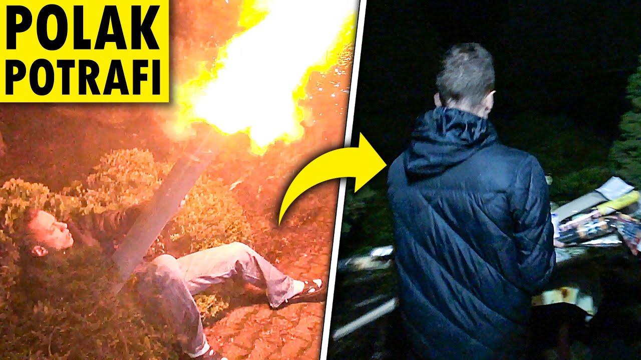 Download Kompletnie PIJANY odpalał fajerwerki w sylwestra!
