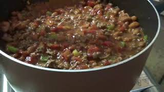 Chili Beans. A simple and easy recipe to make savory and delicious Chili Beans at home.
