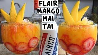Flair Bartending Mango Mai Tai - Tipsy Bartender