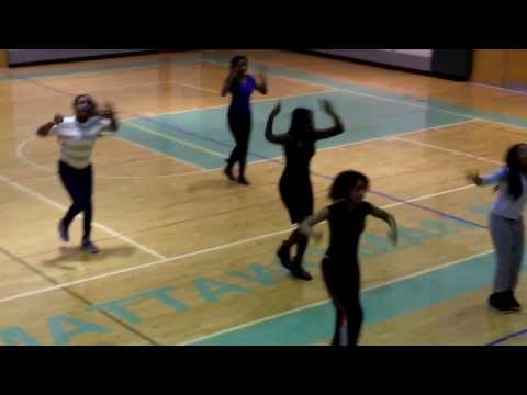 Step Sequence-Mattawoman MIddle School Polly Stompettes