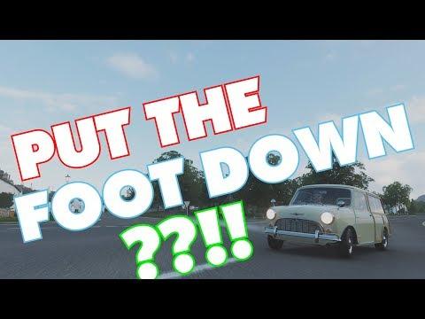 PUT THE FOOT DOWN??!! Forza Horizon 4 | 89