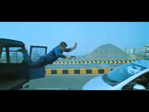 Arrambam ajith stunt scene