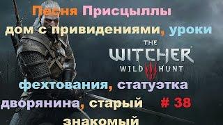 Прохождение The Witcher 3: Wild Hunt Старый знакомый и уроки фехтования # 38