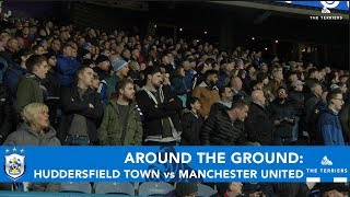 AROUND THE GROUND: Huddersfield Town vs Manchester United