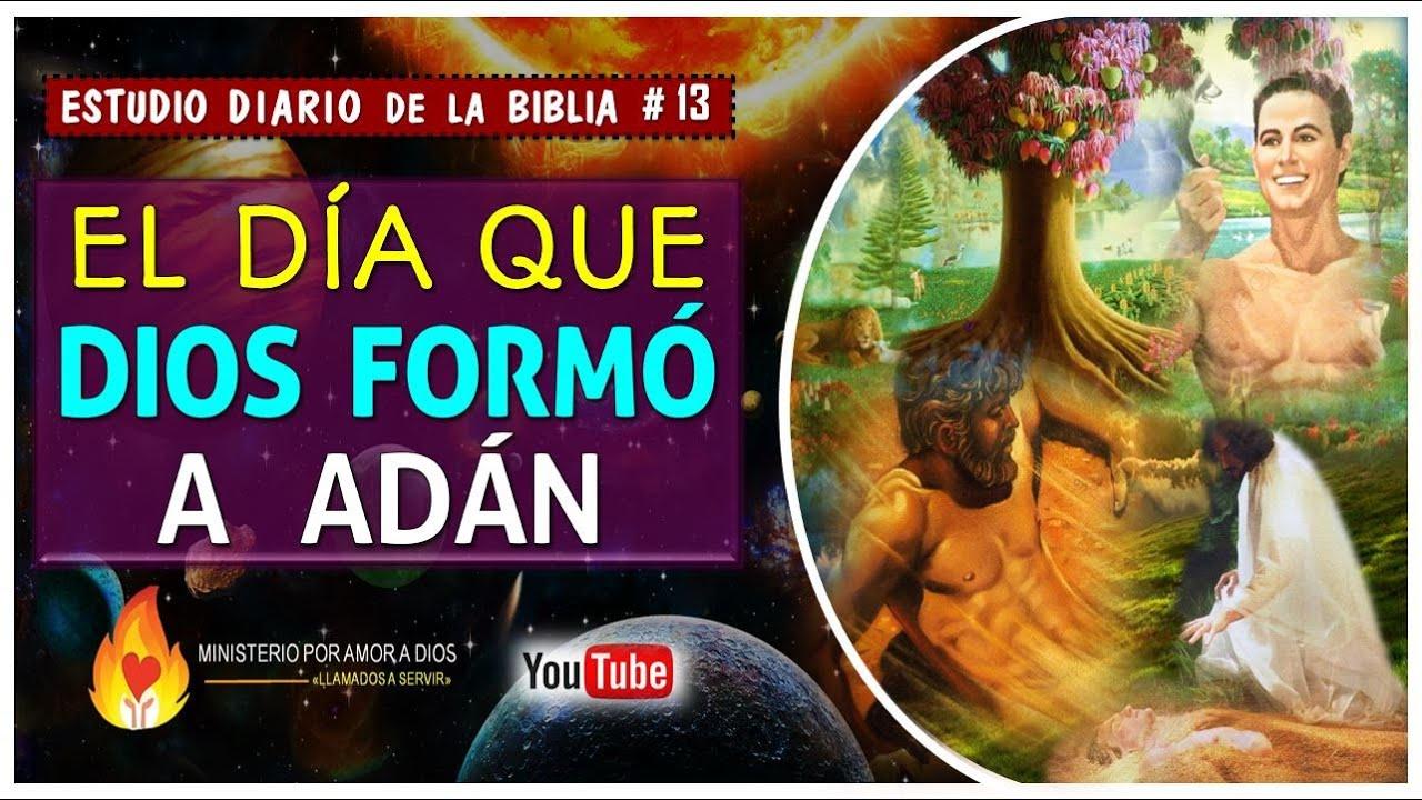 El Día que Dios Formó a Adán 💟🕊   Estudio Diario de la Biblia #13 📖✍🏼
