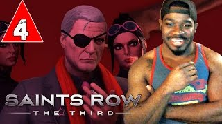 Saints Row 3 The Third Gameplay Walkthrough Part 4 - Party Time - Lets Play