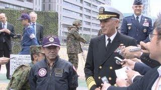 日米の連携強化で一致 幕僚長と米司令官が会談