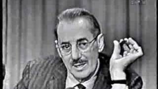 Groucho Marx on 'I've Got a Secret' (1959)