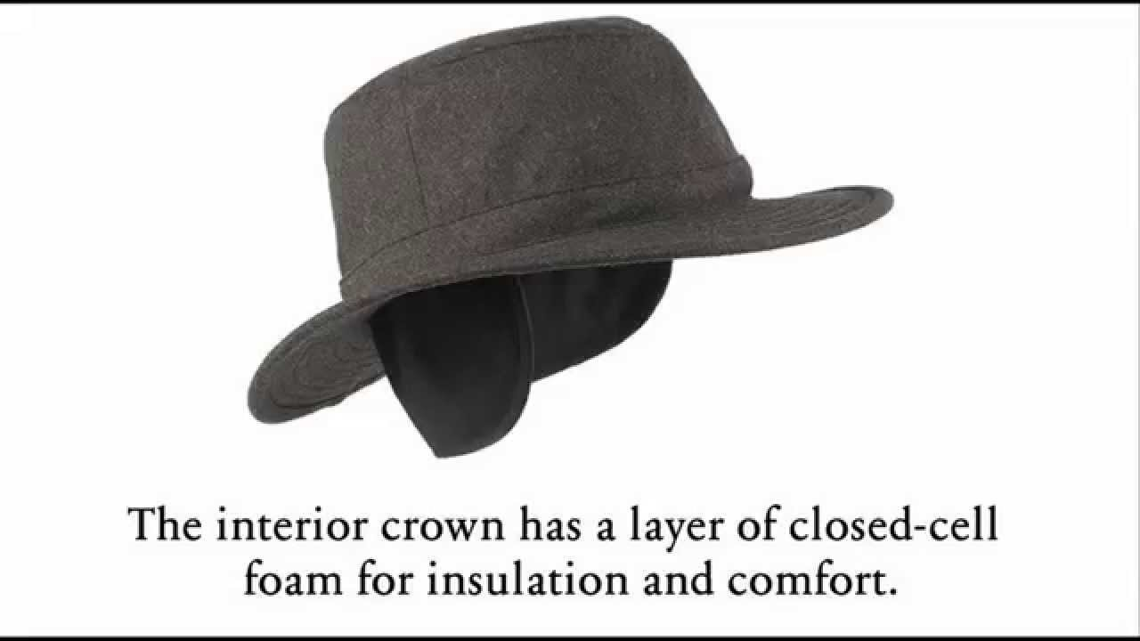 Men s Winter Hat With Ear Flaps - YouTube 4c94bf78fb3