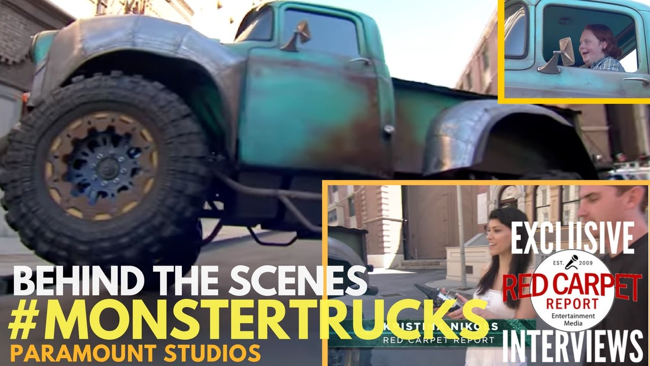 Monster Trucks Behind The Scenes Check Out The Tricks Special Effects Used In The Movie Youtube