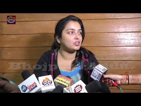 Amrapali Dubey Kafi Khush Hain Khesarilal Ke Saath Apne Video Ko Lekar