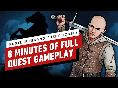 Rustler (Grand Theft Horse) – Full-Quest Gameplay