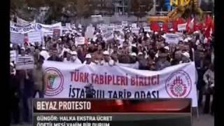 AKP'nin EŞDEĞER İLAÇ Uygulamasına ve Katkı Payını Arttırmasına Protesto 18.10.09