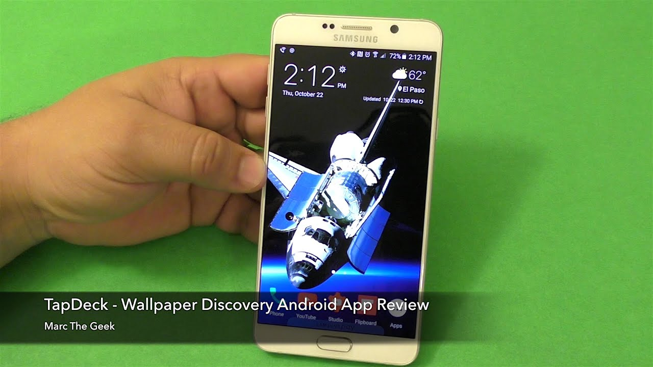 tapdeck wallpaper discovery android app review