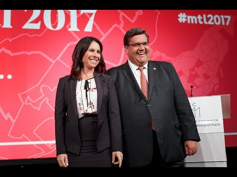 Débat pour la mairie de Montréal