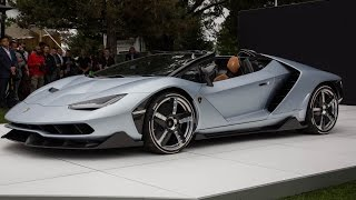 Lamborghini Centenario Roadster First Look - 2016 Monterey Car Week
