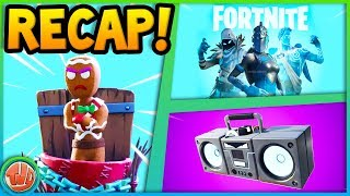 BOOM BOX & LOTS OF FREE STUFF!! (WEEK 52 RECAP)-Fortnite: Battle Royale