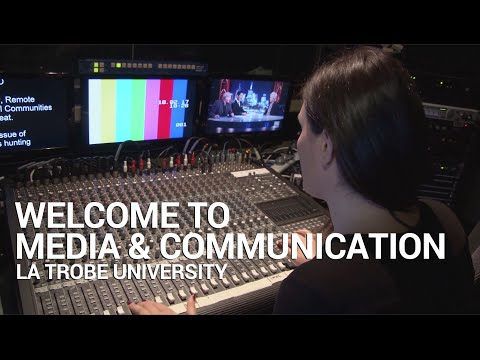 Welcome to Media & Communication at La Trobe