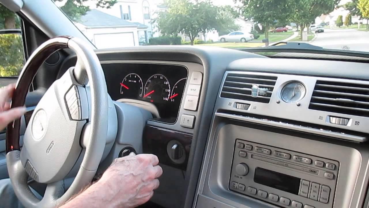 2003 Lincoln Navigator Startup Interior Hd Youtube