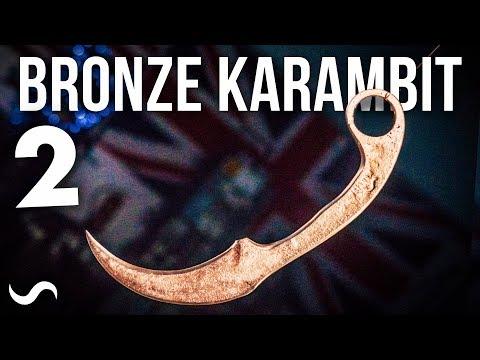 CASTING A BRONZE KARAMBIT! PART 2