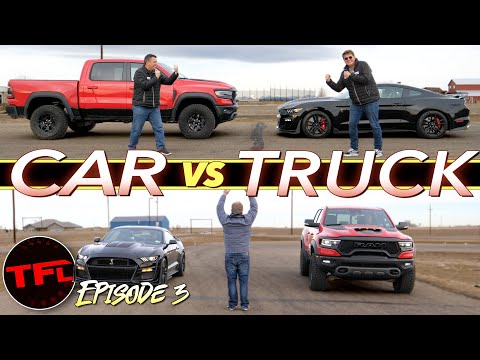 That Was Unexpected! Watch What Happens When The TRX Takes On The GT500: Run What You Brung Ep. 3