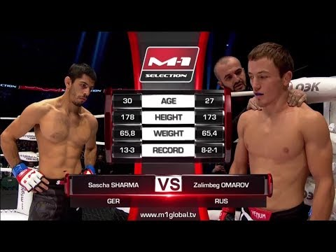 Sascha Sharma vs Zalimbeg Omarov, M-1 Challenge 84